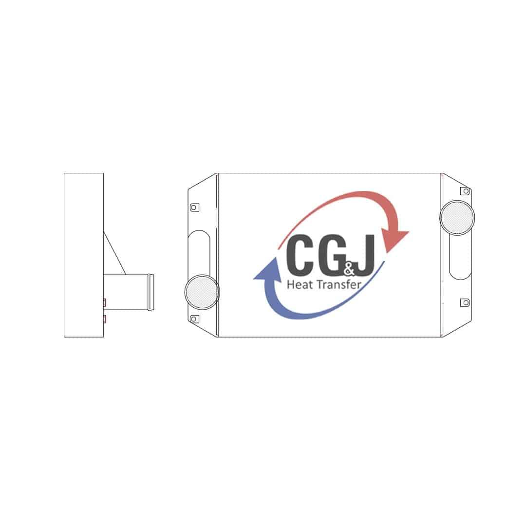 BT 1138 - Aluminum International Charge Air Cooler